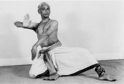 Vempati Chinna Satyam posing as Nataraja_1